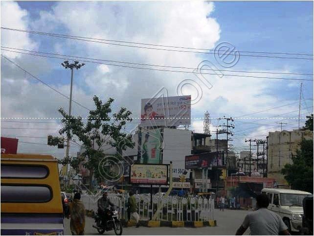 Billboard-Ashwini Bazaar,Udaipur