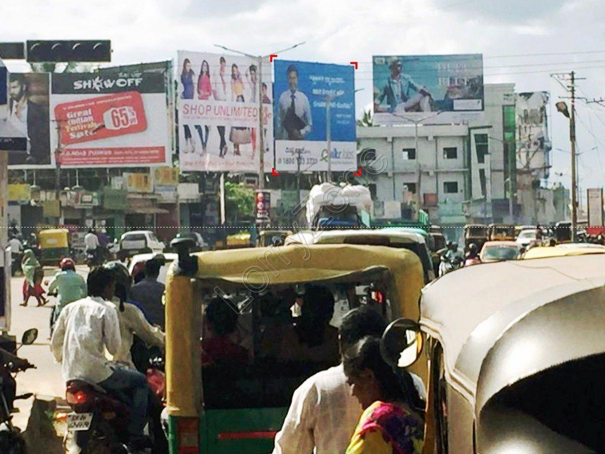 Billboard-Caltex Circle,Tumkur