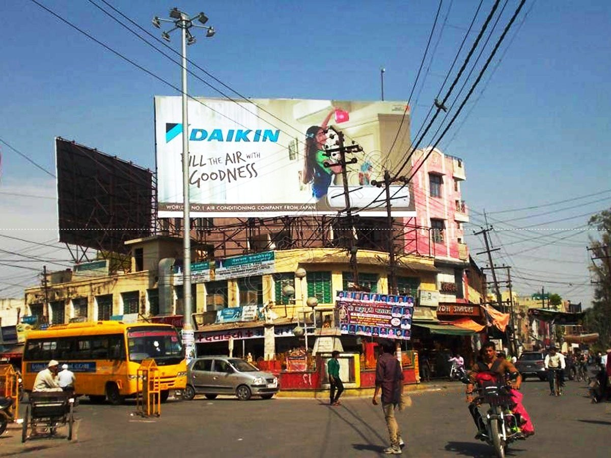 Billboard-Center point,Aligarh