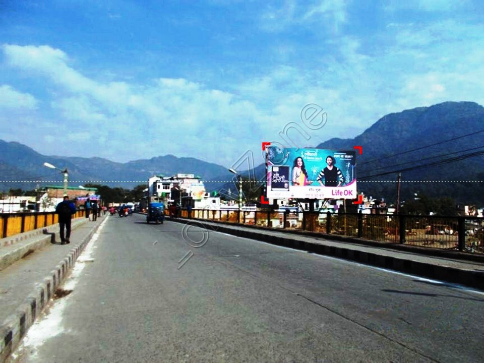 Billboard-Chandrabhaga Bridge,Rishikesh