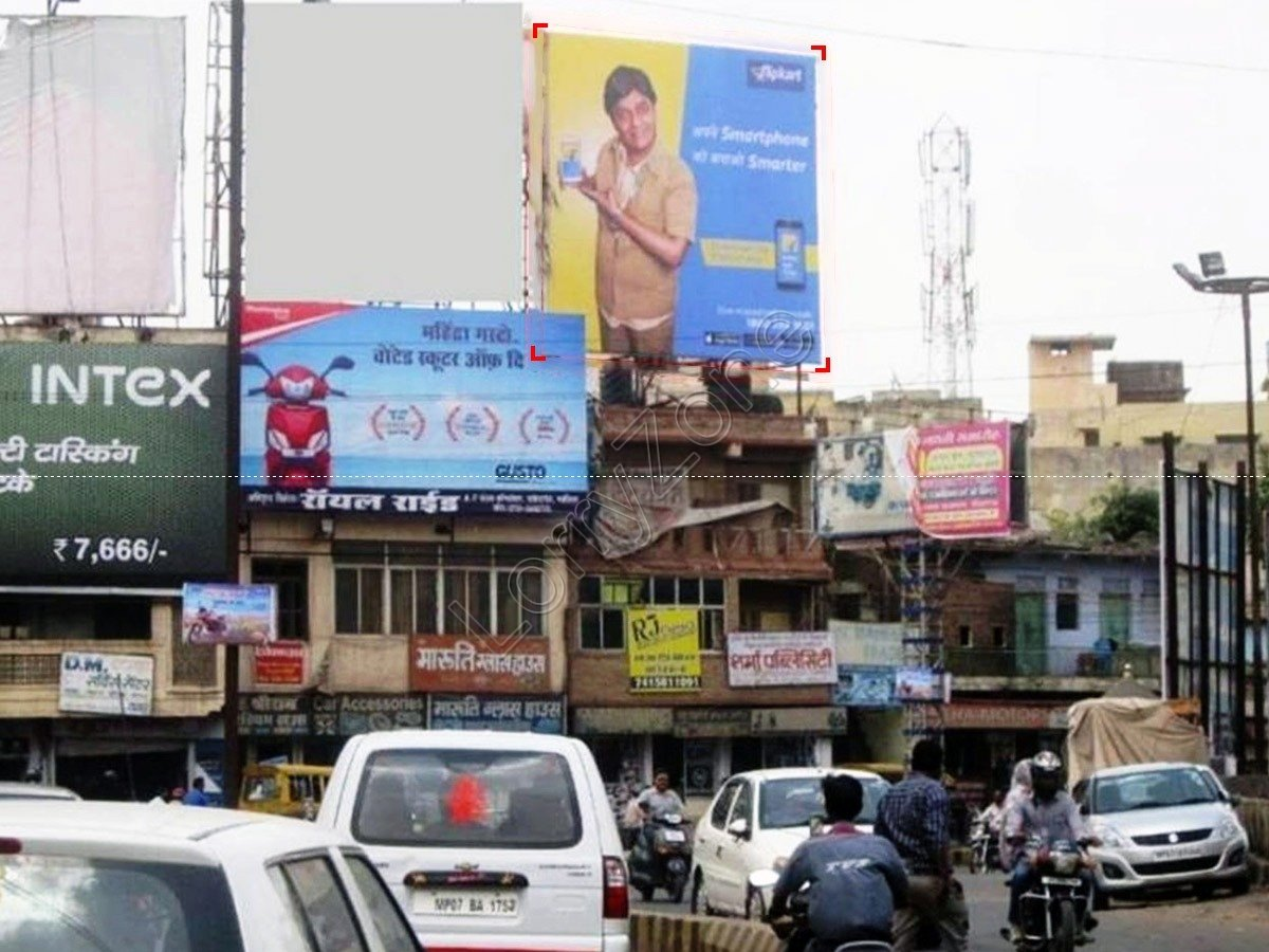 Billboard-Chapparwala Pull,Gwalior