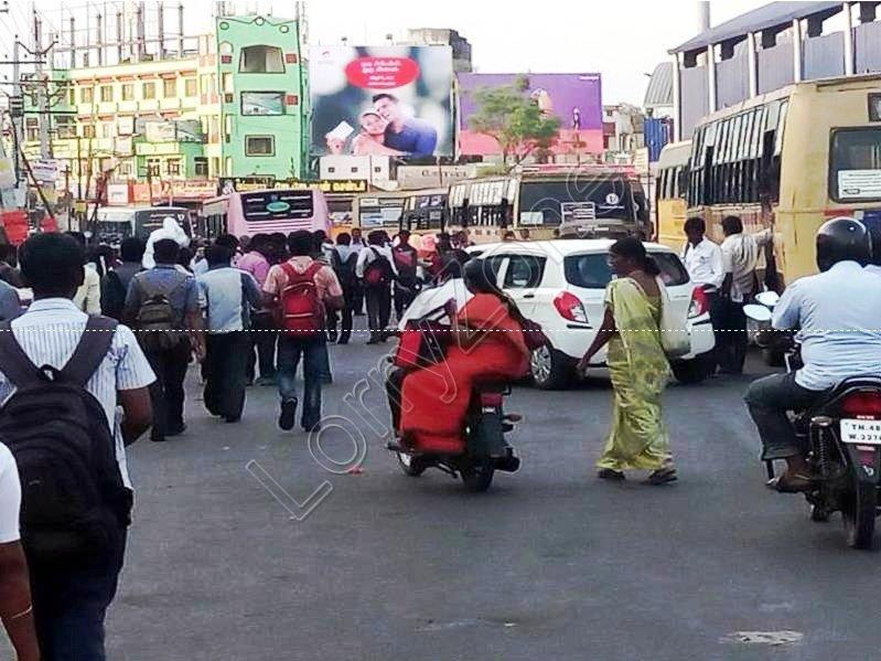 Billboard-Chathiram Bus Stand,Trichy