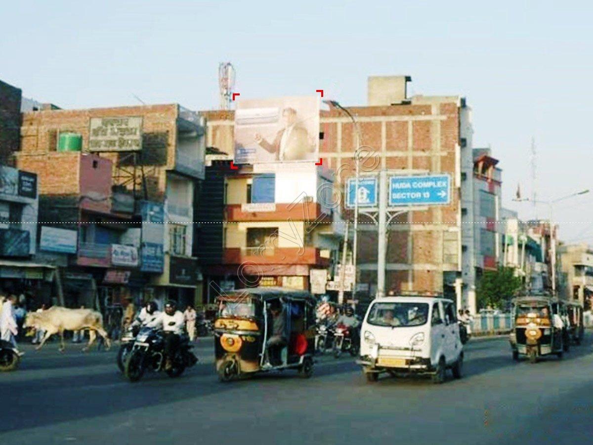 Billboard-Dabra Chowk,Hisar