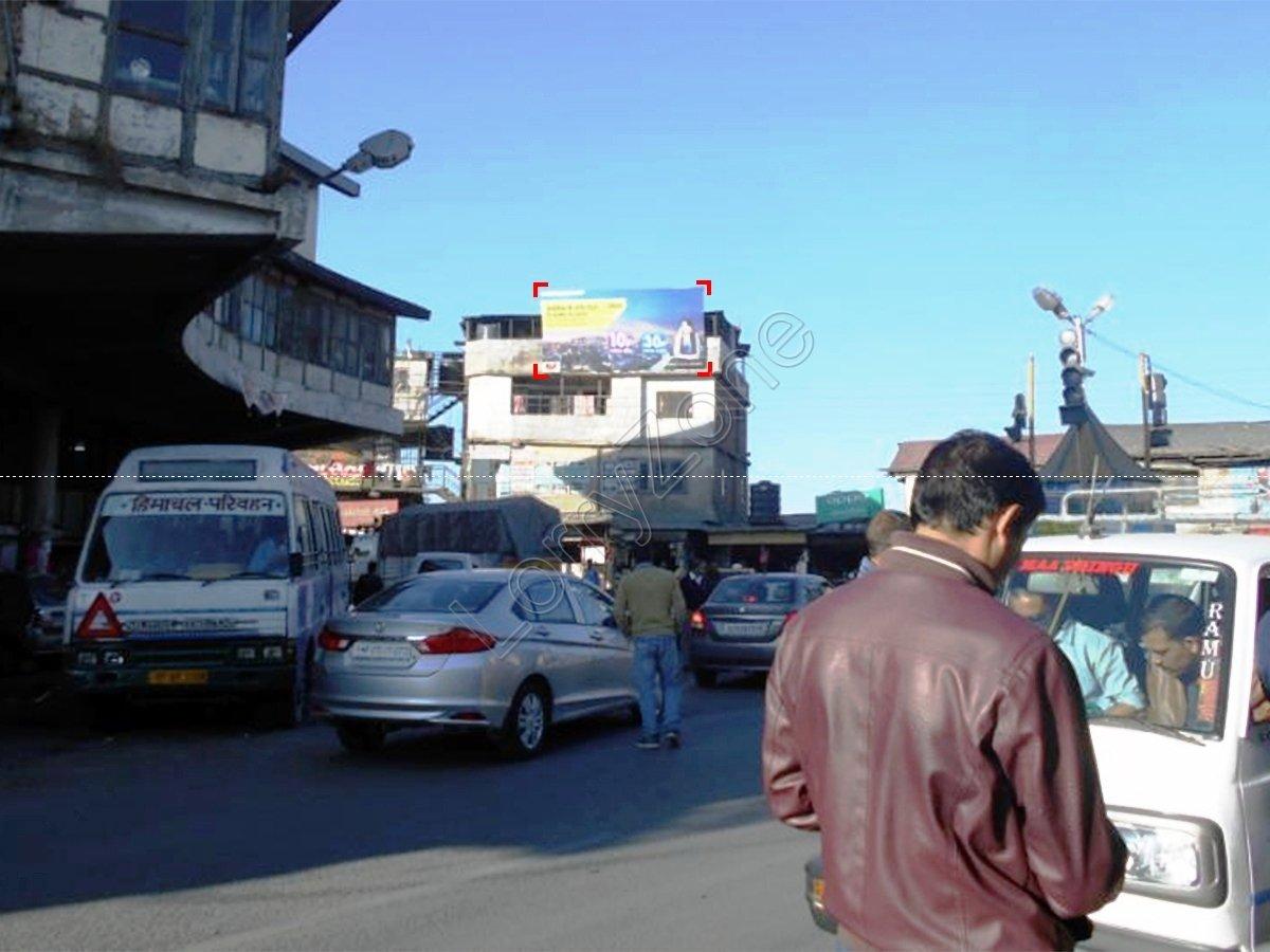 Billboard-Dhalli Chowk,Shimla