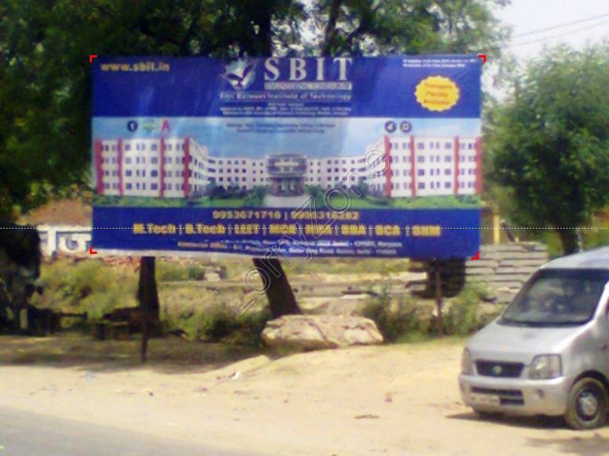 Billboard-Gauripur Morh,Baghpat