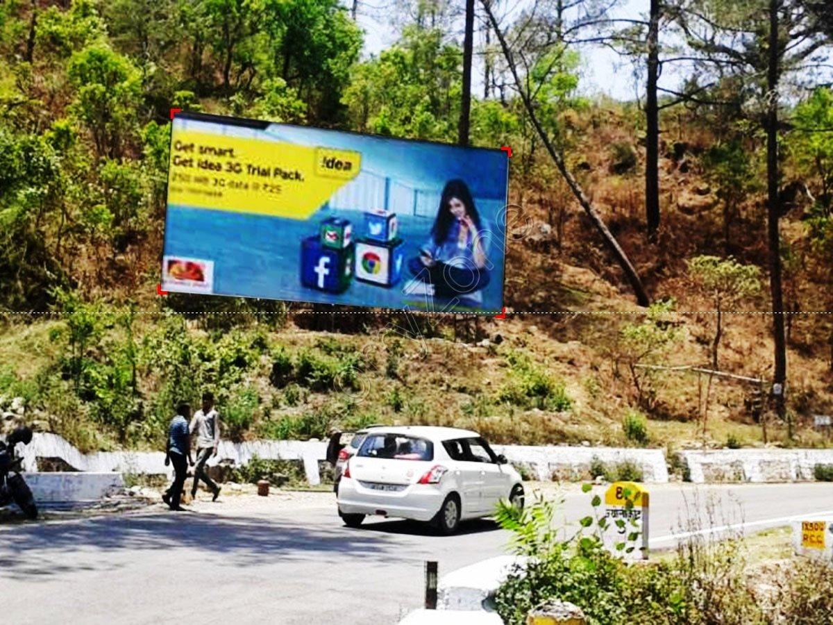 Billboard-Jeolikote,Nainital