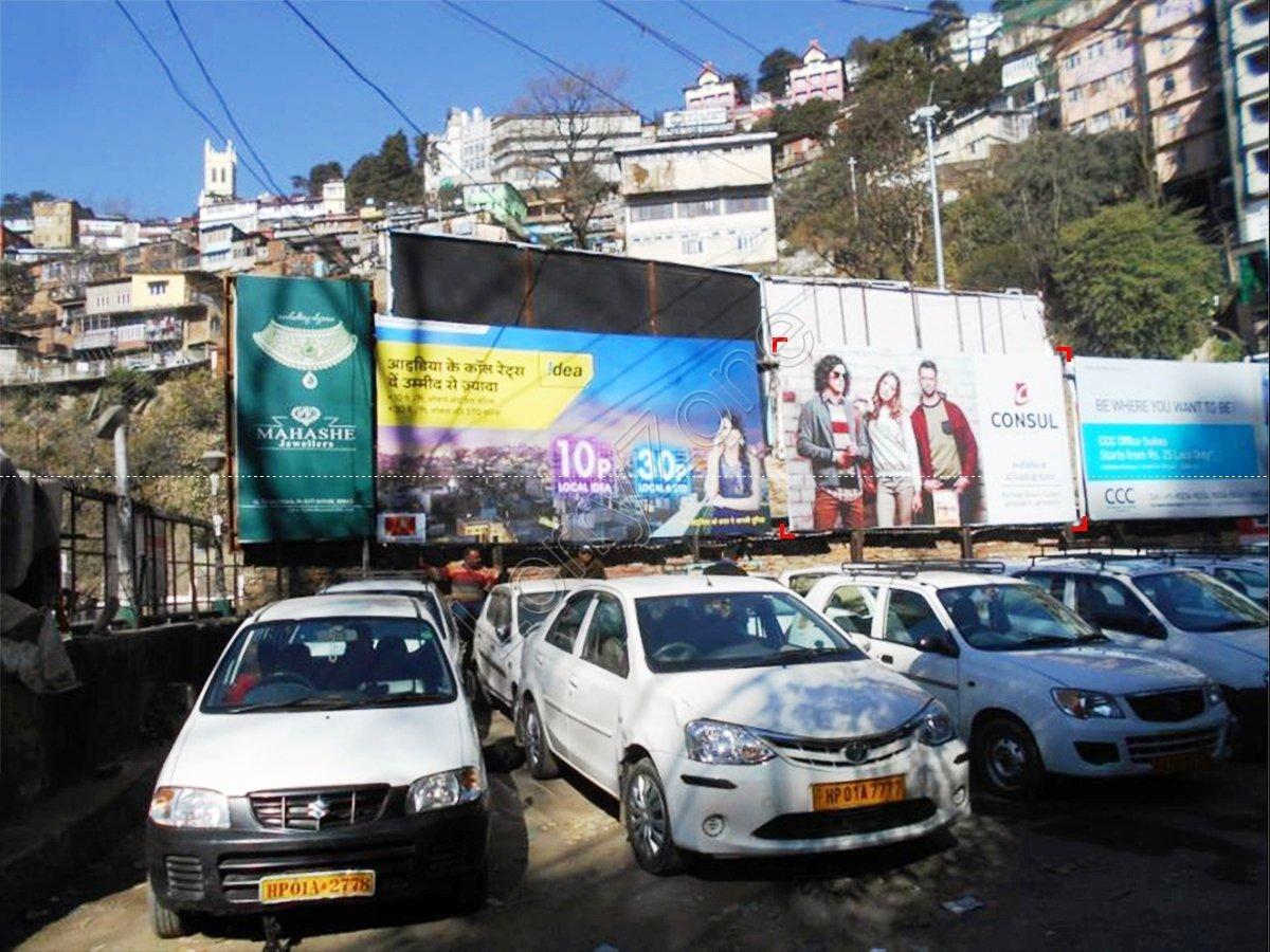 Billboard-Lift Parking,Shimla