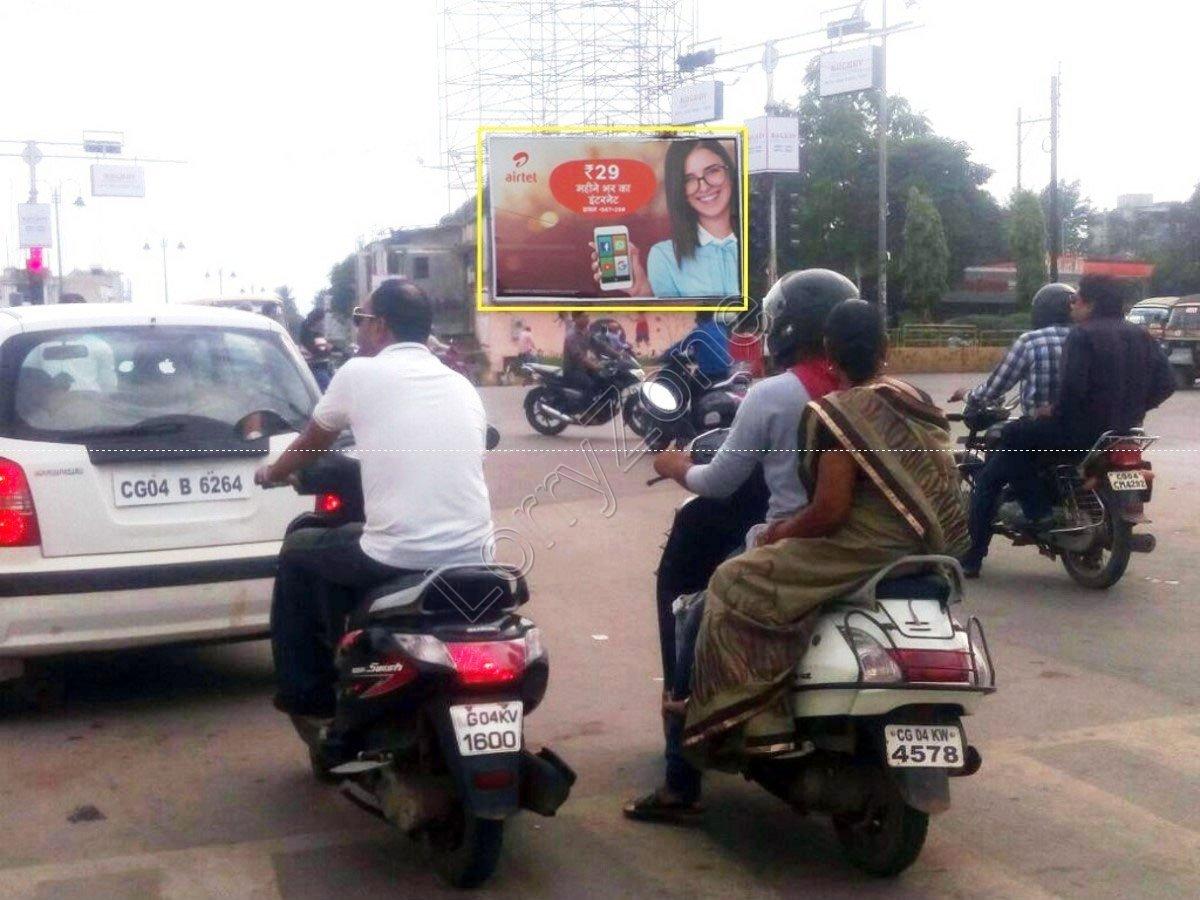 Billboard-Marine Drive Square,Raipur