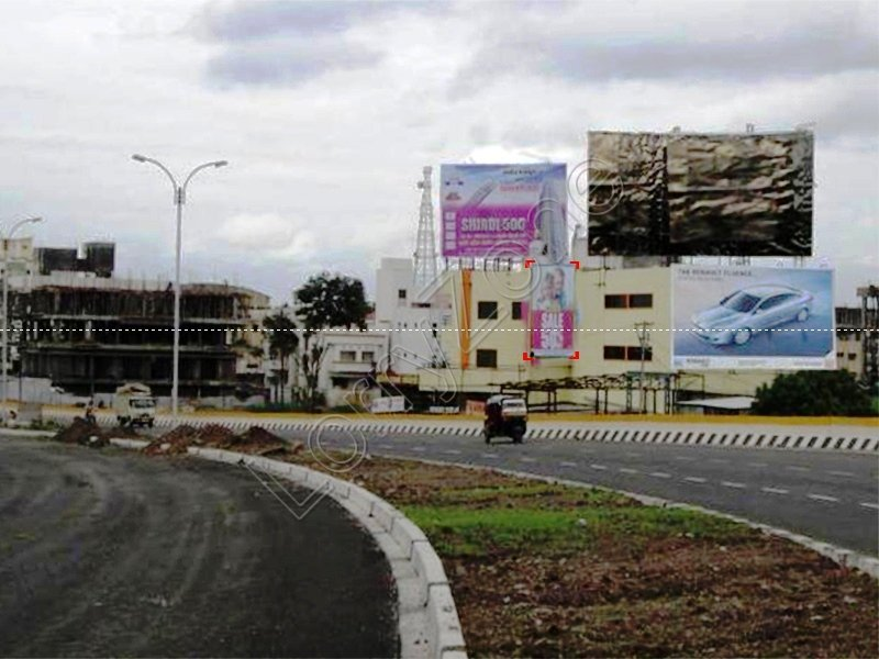 Billboard-Pune Naka,Solapur