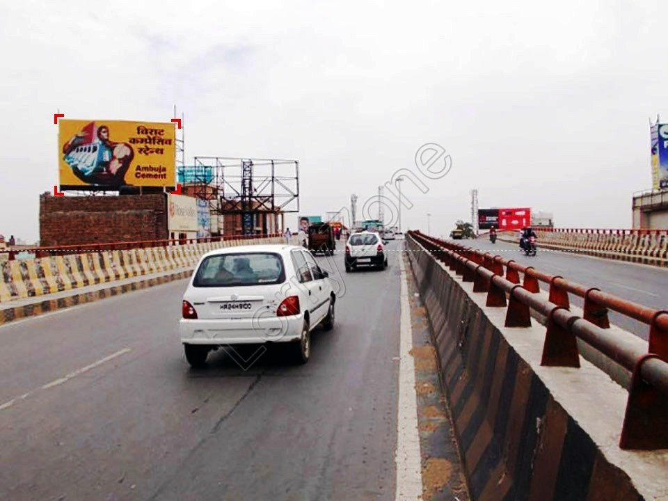 Billboard-Railway Over Bridge Flyover,Sirsa