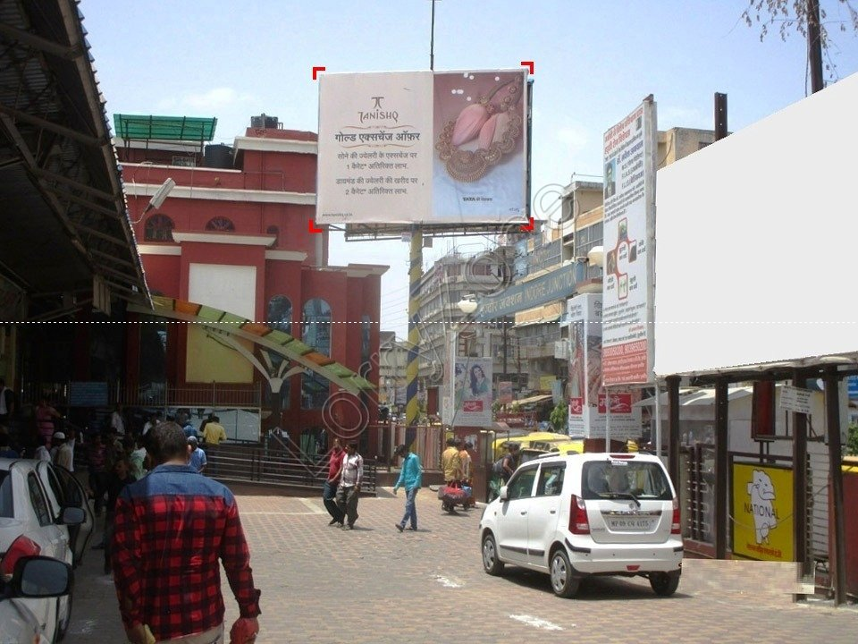 Billboard-Railway Station,Indore