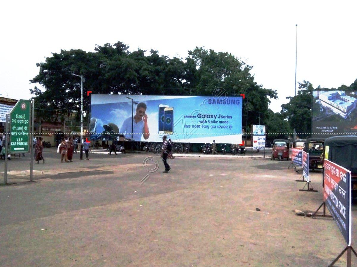Billboard-Railway Station,Puri