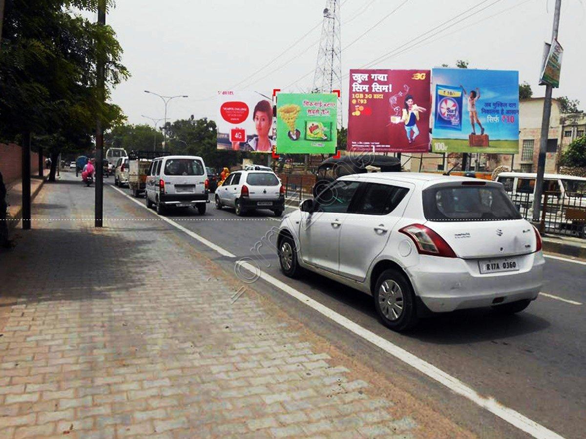 Billboard-Rani Jhansi Chowk,Hisar