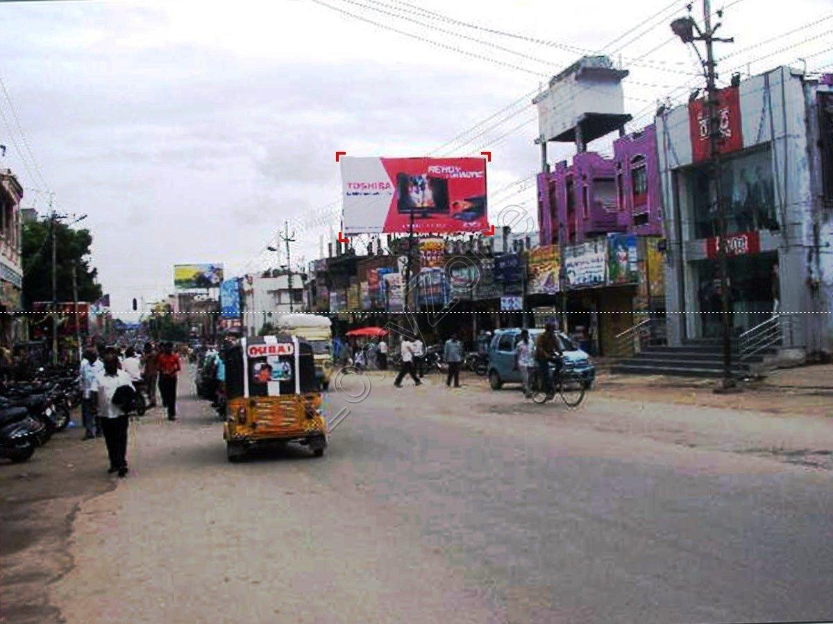 Billboard-Station Road,Warangal