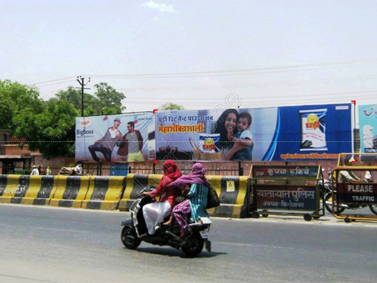 Billboard-Station road,Firozabad