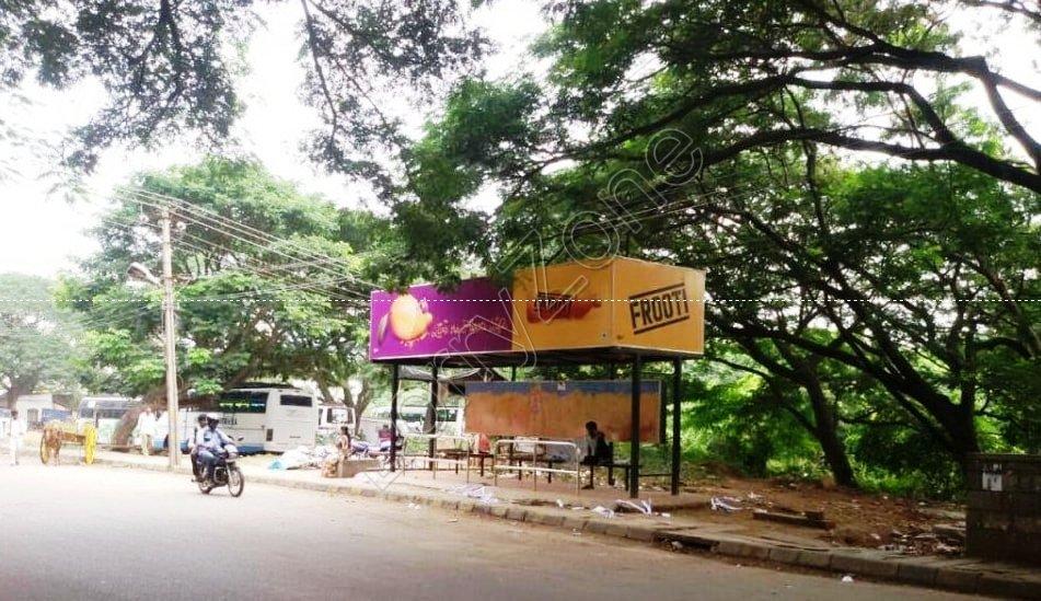 Bus Shelter - Doora, Mysore