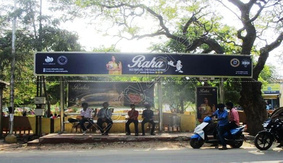 Bus Shelter - Gopalapuram, Coimbatore