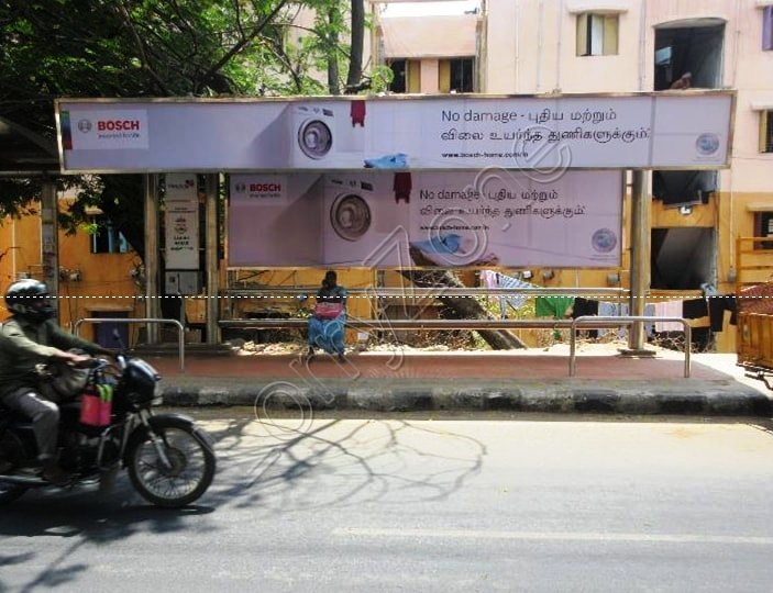 Bus Shelter - ICF colony, Chennai