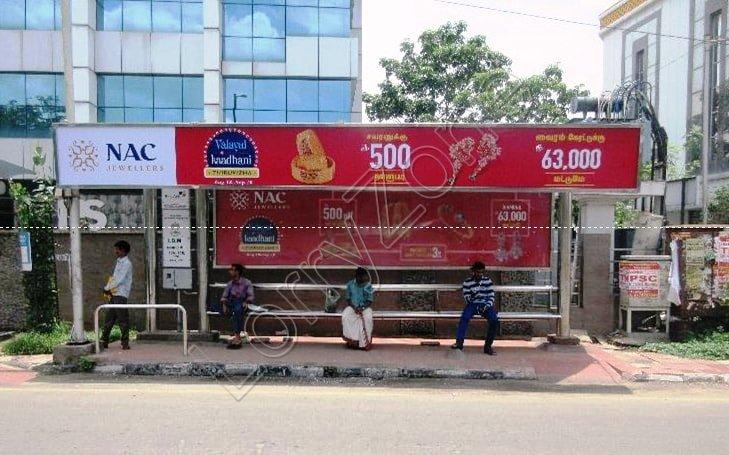 Bus Shelter - K.K Nagar, Trichy