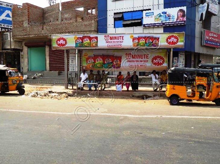 Bus Shelter - Kodambakkam, Chennai