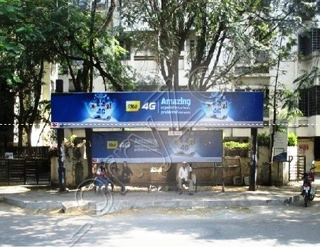 Bus Shelter - Koregaon Park, Pune