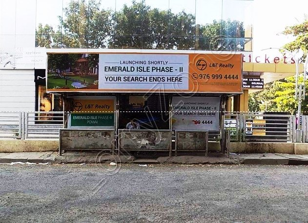 Bus Shelter - Lakshmipuram, Mysore