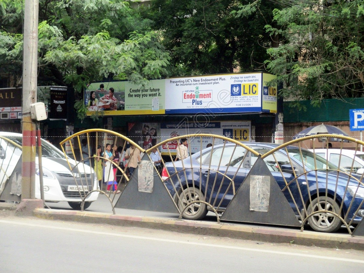 Bus Shelter-MG Road,Pune