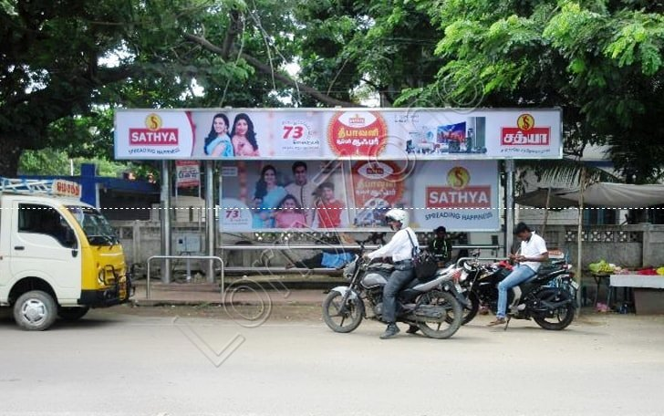 Bus Shelter - Mogappair West, Chennai