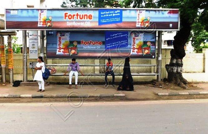 Bus Shelter - Mylapore, Chennai
