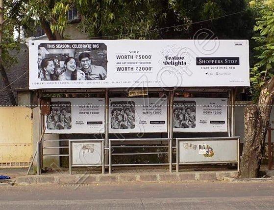 Bus Shelter - Saraswathipuram, Mysore