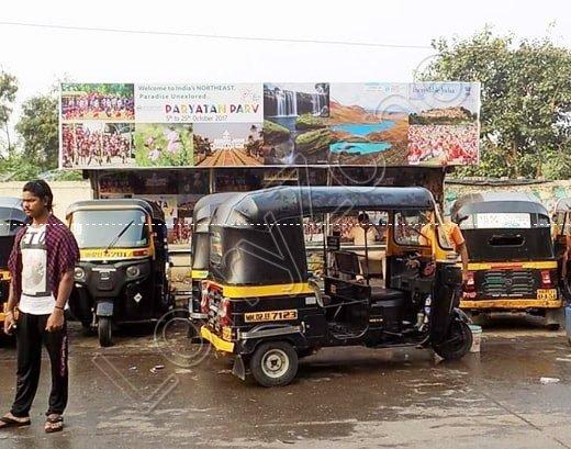 Bus Shelter - Tilak Nagar, Mysore