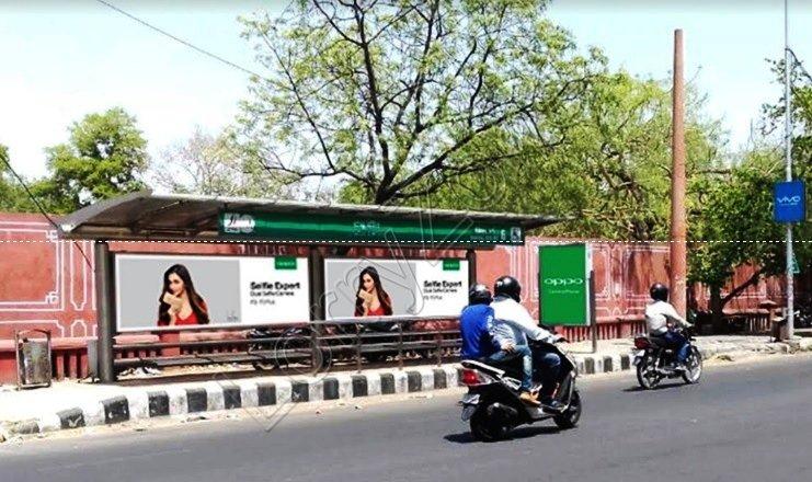Bus Shelter - Vaishali Nagar, Jaipur