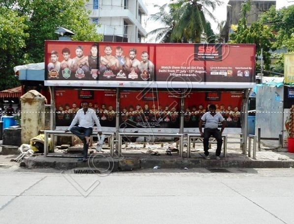 Bus Shelter - Vani Vilas Mohalla, Mysore