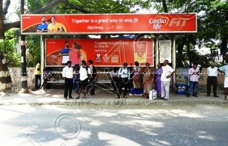 Bus Shelter - Velachery, Chennai
