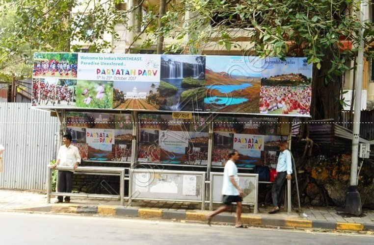 Bus Shelter - Walkeshwar, Mumbai