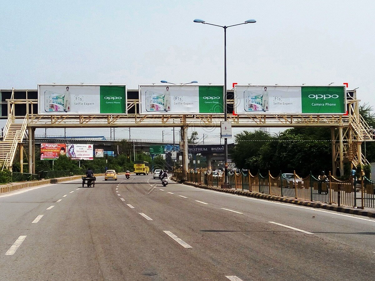 Foot Over Bridge-Dabur Chowk,Ghaziabad