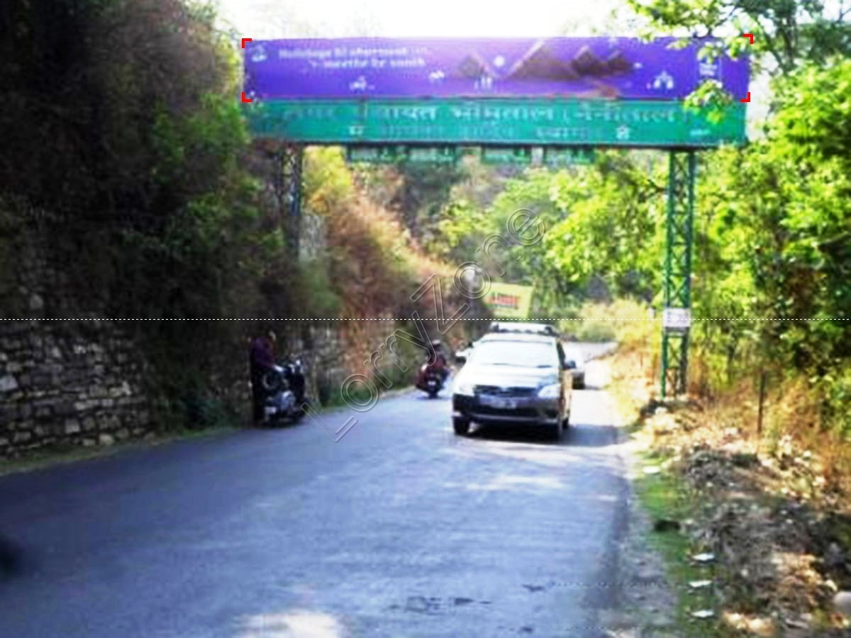 Gantry-Bhimtal Entry Point,Nainital