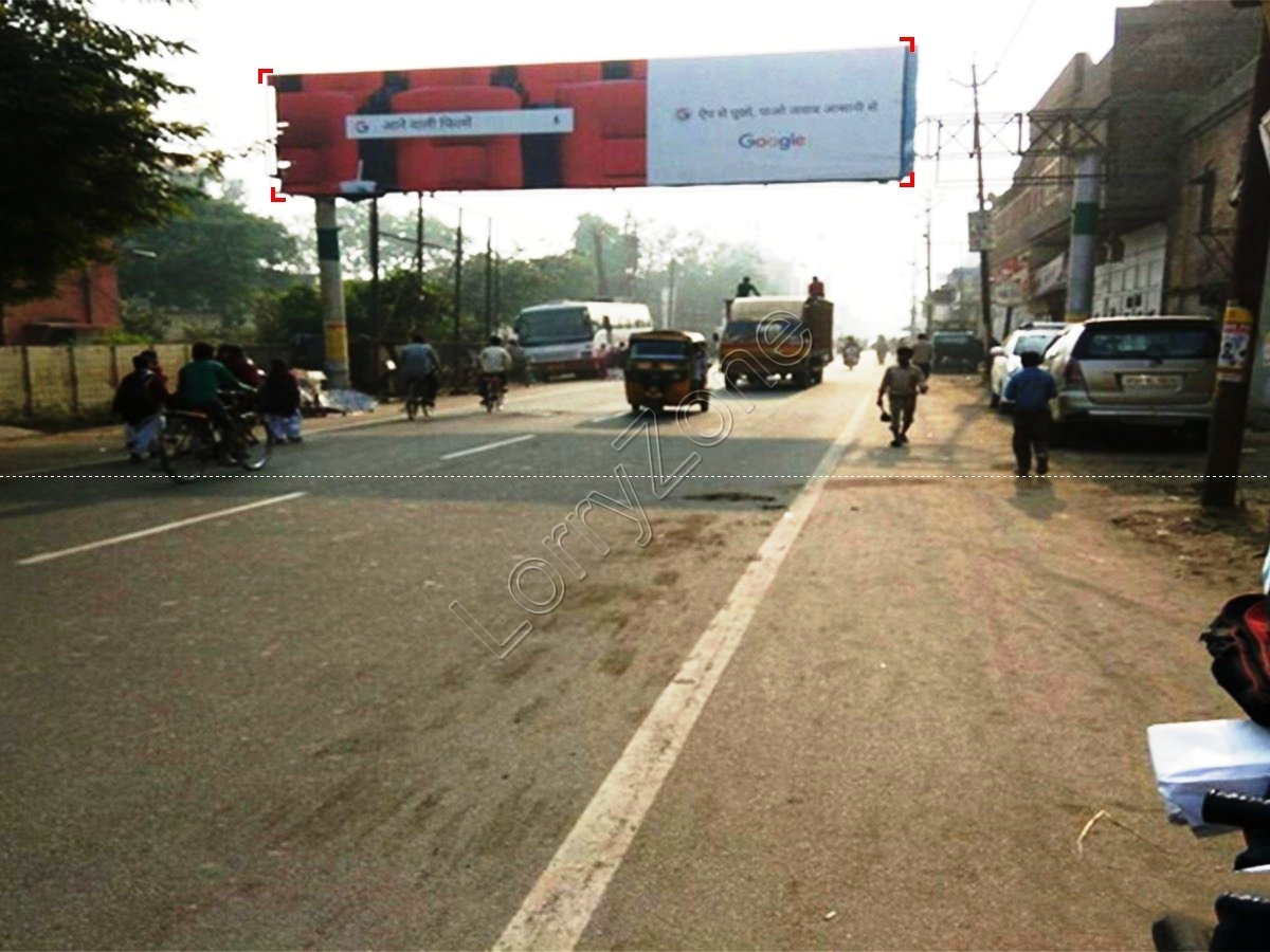 Gantry-Station road,Firozabad