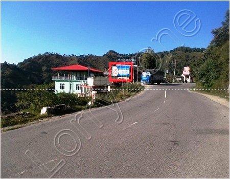 Hoarding - Kaithlighat, Shimla