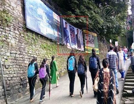Hoarding - Lakkar Bazar, Shimla