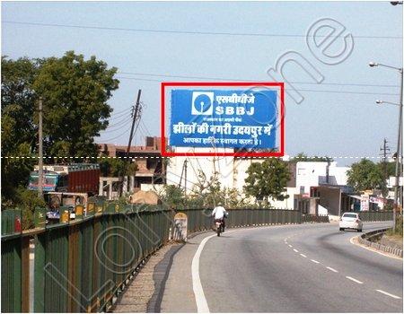 Hoarding - Pratap Nagar, Udaipur