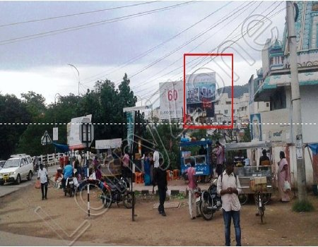 Hoarding - Punnamathota, Vijayawada
