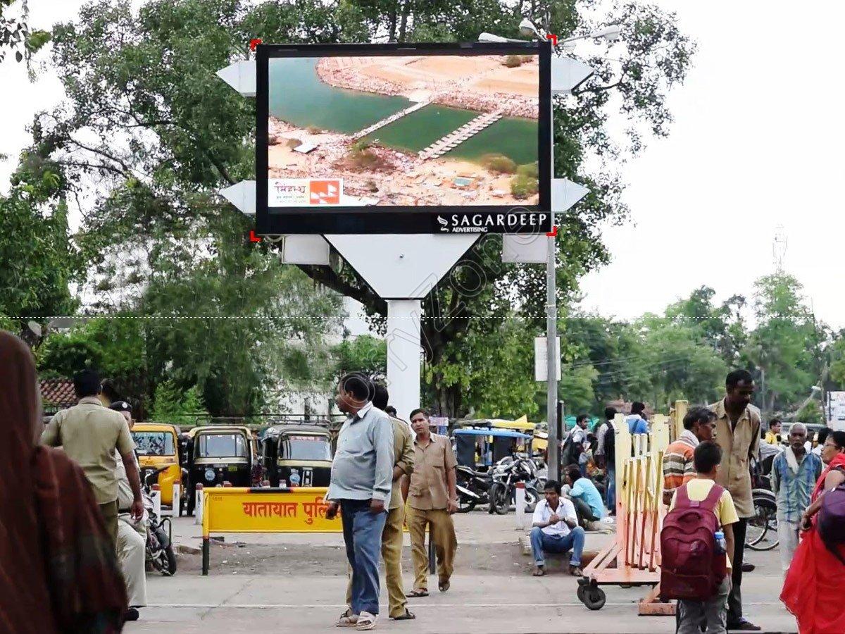 Led-Railway Station,Jabalpur