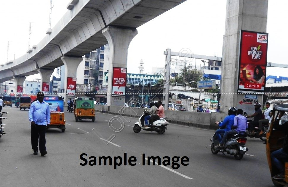 Metro Pillar - Abids South, Hyderabad