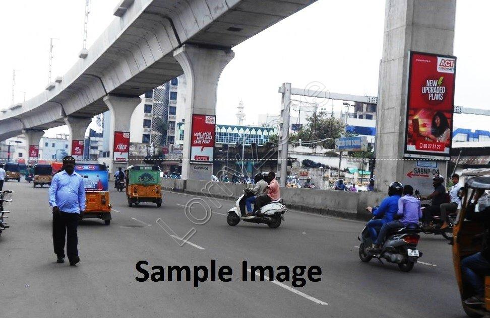 Metro Pillar - Kukatpally, Hyderabad