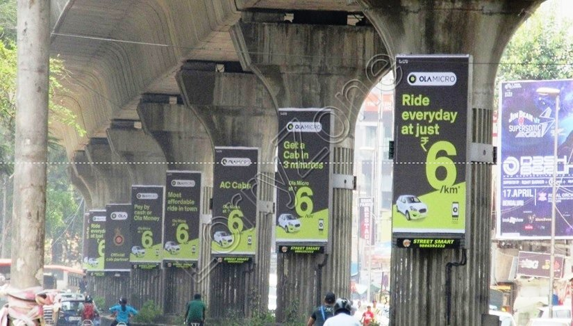 Metro Pillar - Someshwarpura, Bangalore