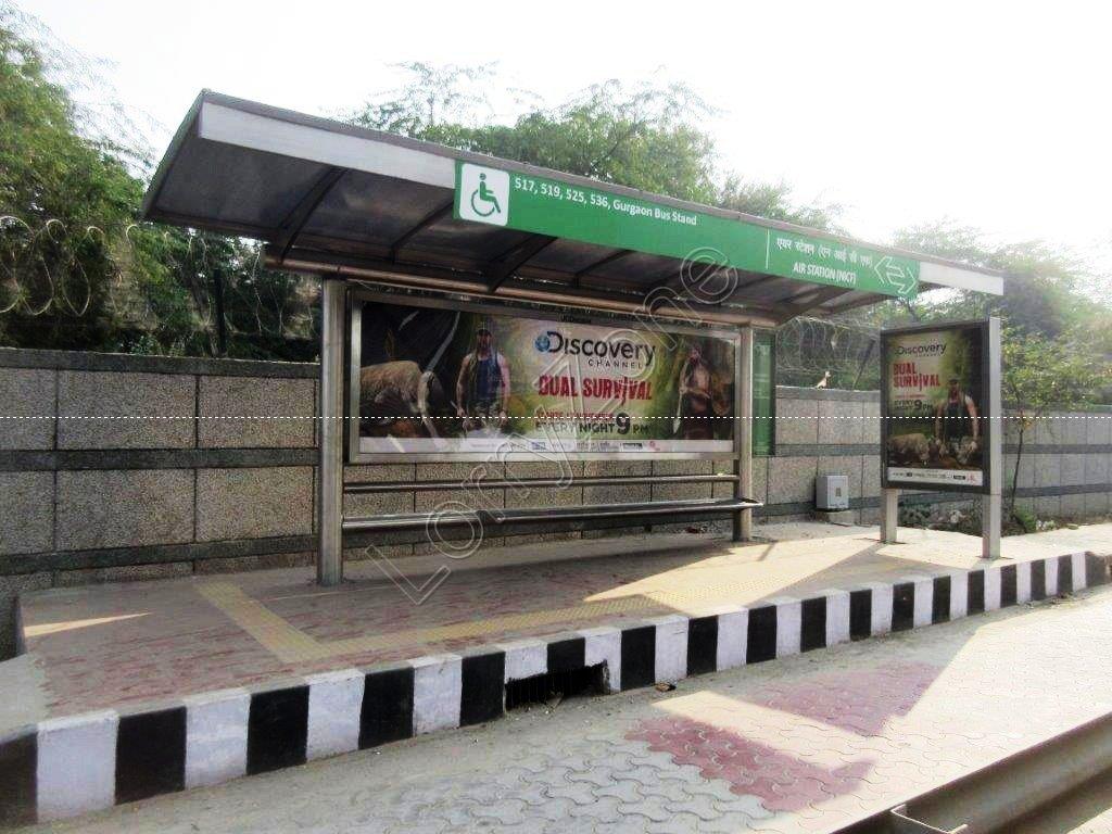 Smart Bus Shelter-Arjangarh,Delhi