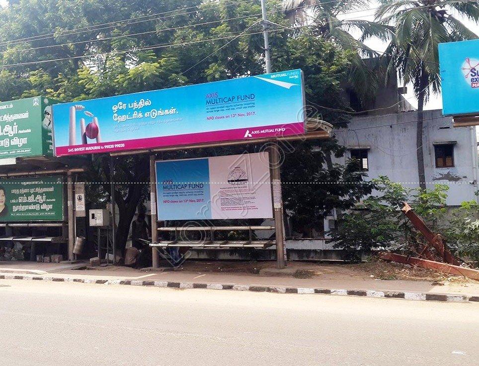 Smart Bus Shelter-Bye Pass Road,Madurai