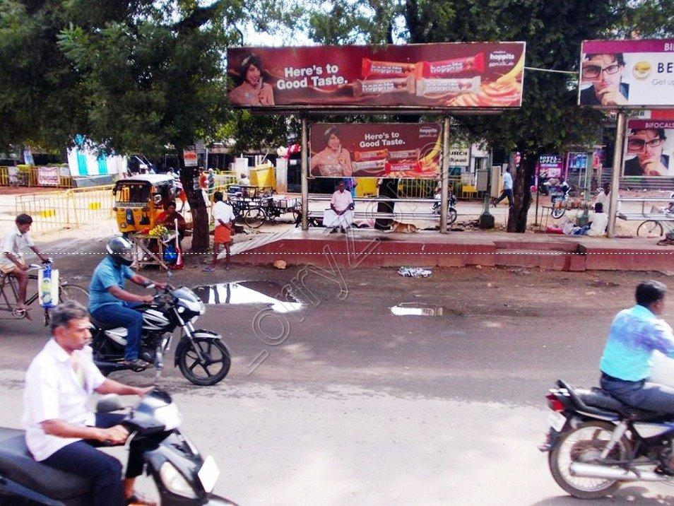 Smart Bus Shelter-Kalavasal,Madurai