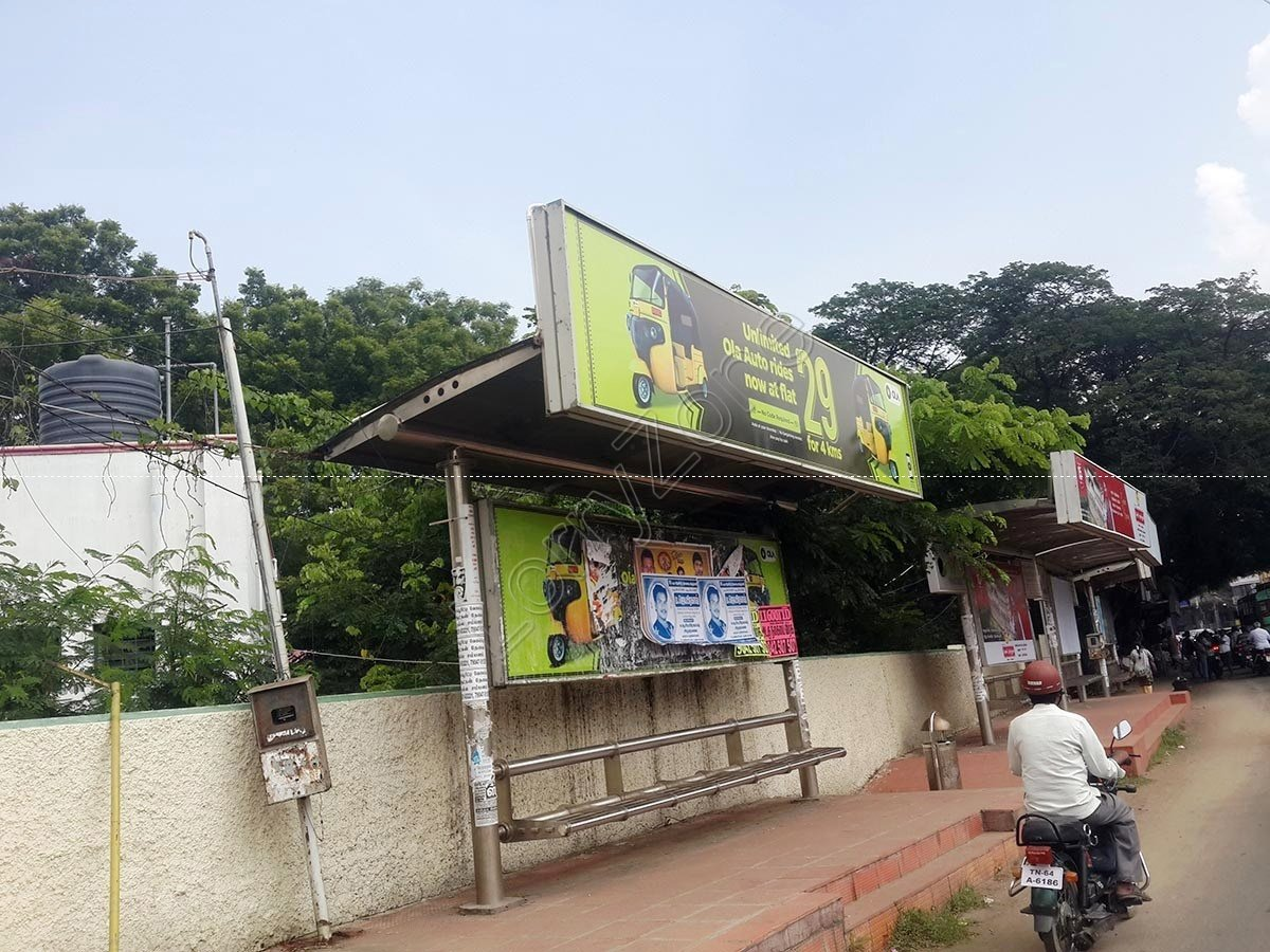 Smart Bus Shelter-Madura college,Madurai